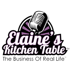 "Ally Lays Out the Book Biz on ""Elaine's Kitchen Table"""